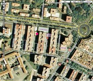 Localización Club Auryn gentileza de Google Maps.