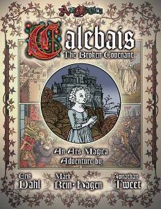 Ars Magica - The Broken Covenant of Calebais (portada 5ª edición)
