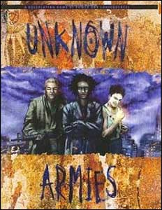 Portada de Unknown Armies