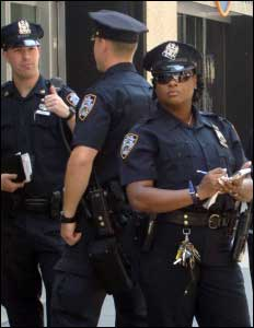 Policías de Estados Unidos
