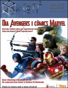 Día Avengers y Cómics Marvel