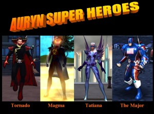 Auryn Super Héroes