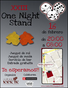 XXIII One Night Stand